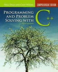 Programming And Problem Solving With C++ 5th Edition Comprehensive