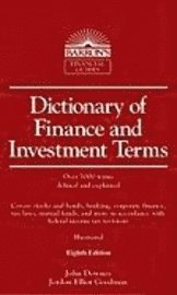 Dictionary of Finance and Investment Terms (inbunden)