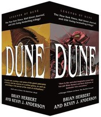 Dune Boxed Mass Market Paperback Set #1: Dune: The Butlerian Jihad, Dune: The Machine Crusade, Dune: The Battle of Corrin (pocket)