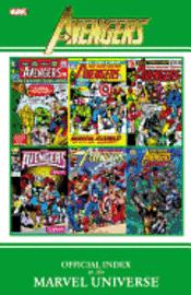 Avengers Official Index to the Marvel Universe (inbunden)