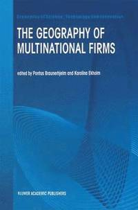 The Geography of Multinational Firms (h�ftad)