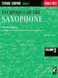 Technique of the Saxophone - Volume 2: Chord Studies