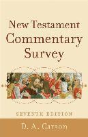 New Testament Commentary Survey (e-bok)