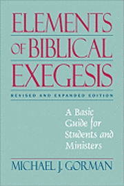 Elements of Biblical Exegesis ()