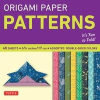 Origami Paper Pattern (h�ftad)