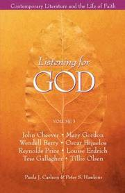 Listening for God Vol 3 Reader: v. 3 (häftad)
