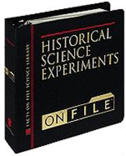 Historical Science Experiments on File (inbunden)