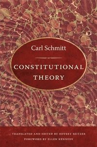 Constitutional Theory (h�ftad)