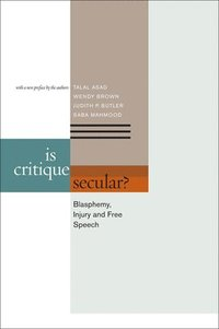 Is Critique Secular? (h�ftad)