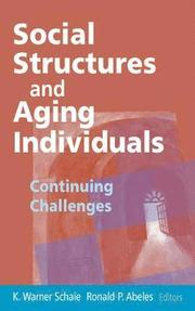 The individual aging and society pdf