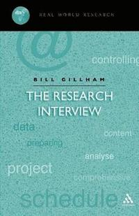 The Research Interview (h�ftad)