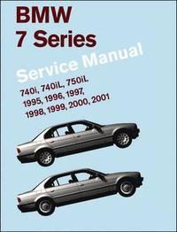 BMW 7 Series Service Manual 1995-2001 (E38) (inbunden)