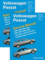 Volkswagen Passat Service Manual 1998, 1999, 2000, 2001, 2002, 2003, 2004, 2005 1.8L Turbo, 2.8L V6, 4.0L W8 Including Wagon and 4motion (inbunden)