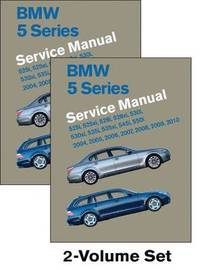BMW 5 Series Service Manual 2004,2005,2006,2007,2008,2009,2010 (E60, E61) (inbunden)
