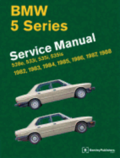 BMW 5 Series Official Service Manual 1982-1988