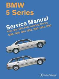 BMW 5 Series Service Manual 1989-1995 (E34) (inbunden)