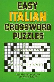 Easy Italian Crossword Puzzles - Nancy Goldhagen - Bok (9780844280530) | Bokus bokhandel