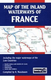 Map of the Inland Waterways of France ()