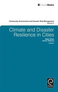Climate and Disaster Resilience in Cities (inbunden)
