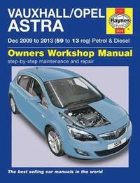 Vauxhall/Opel Astra Service and Repair Manual (inbunden)