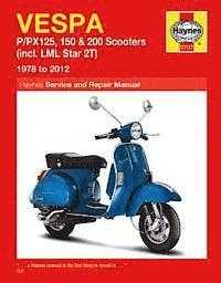 Vespa P/PX125, 150 &; 200 Scooters Inc LML Star 2T Service &; Repair Manual (h�ftad)