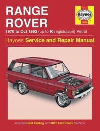 Range Rover V8 Petrol Owners Workshop Manual (h�ftad)
