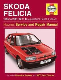 Skoda Felicia Owner's Workshop Manual (h�ftad)