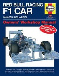 Red Bull Racing F1 Car Manual (inbunden)