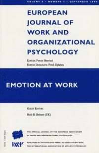 Emotion at Work: v. 8, no. 3