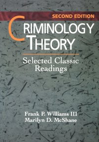 Criminology Theory (h�ftad)