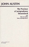 The Province of Jurisprudence Determined and the Uses of the Study of Jurisprudence (h�ftad)