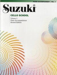 Suzuki Cello School, Volume 3: Piano Accompaniment