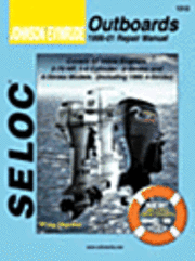 Johnson/Evinrude Outboards 1996-01 Repair Manual: All Inline Engines, 2 and 4-Stroke, 1-4 Cyl ()