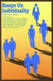 felix morley essays on individuality