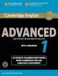 Cambridge English Advanced 1 for Revised Exam from 2015 Student's Book Pack (Student's Book with Answers and Audio CDs (2))