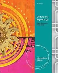 Culture and Psychology (h�ftad)