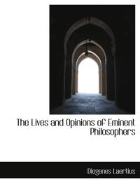 The Lives and Opinions of Eminent Philosophers (inbunden)