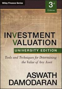 Investment Valuation (inbunden)