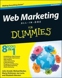 Web Marketing All-in-One for Dummies 2nd Edition (h�ftad)