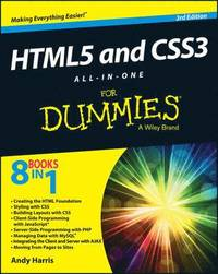 HTML5 and CSS3 All-in-One for Dummies 3rd Edition (h�ftad)
