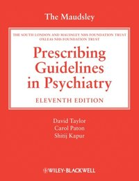 The Maudsley Prescribing Guidelines In Psychiatry David border=