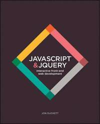 JavaScript &; JQuery (e-bok)