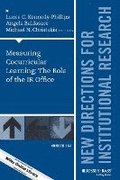 Measuring Cocurricular Learning: The Role of the IR Office: Number 164 New Directions for Institutional Research