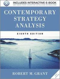 Contemporary Strategy Analysis (h�ftad)