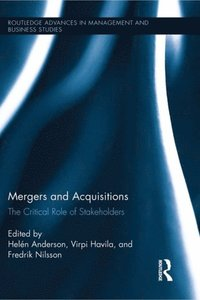 Mergers and Acquisitions (e-bok)