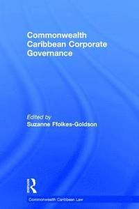 Commonwealth Caribbean Corporate Governance (inbunden)
