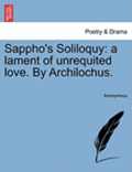 Sappho's Soliloquy