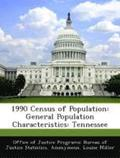 1990 Census of Population: General Population Characteristics: Tennessee