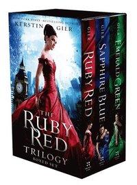 The Ruby Red Trilogy Boxed Set (inbunden)