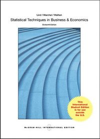 Statistical Techniques in Business and Economics (Int'l Ed) (h�ftad)